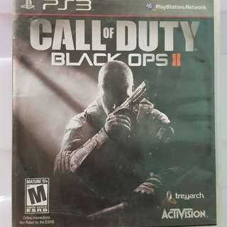 PS3 Games: Call of Duty Black Ops 2