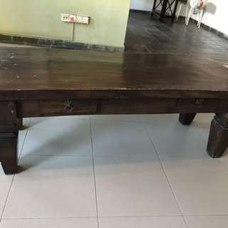 Teakwood tables