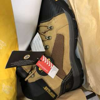 Work boots cat convex mid size 9 brand new