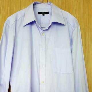 G2000 Long-Sleeve Regular Fit Shirt- Size 16/34