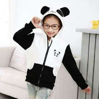 Kids Korean Panda Hoodie Jacket