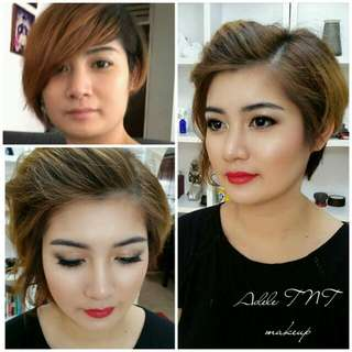 $68 pro. Makeup and hairstyle service