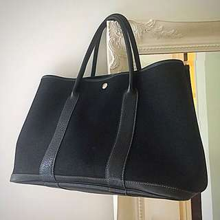Hermes 2015 Garden Party 36 Black