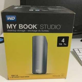 WD My Book 4TB Hard Drive