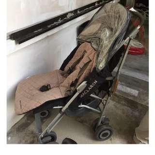 Maclaren Black Stroller
