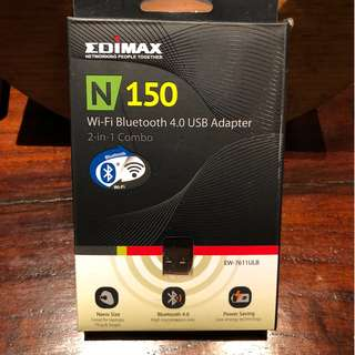 Edimax N150 Wifi Bluetooth Adapter