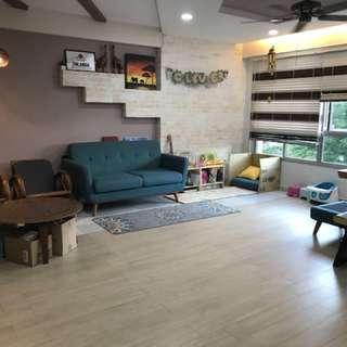 5-room flat for rent near Punggol Park