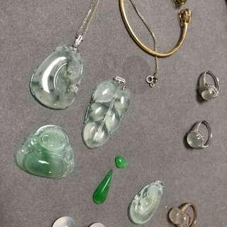 玉石及鑲嵌成品