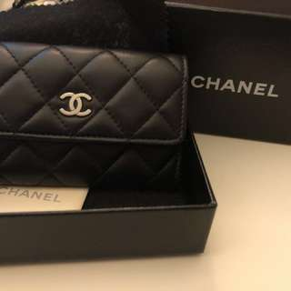 99% new Chanel card holder/ wallet 銀包