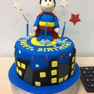 used birthday cake decorative