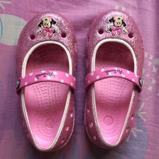 Crocs minniemouse pink