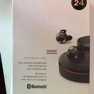 ONKYO W800BT headset 安橋 藍牙 無線 耳機