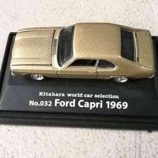 ford capri 1969 diecast kitahara car sale