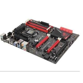 ASUS MAXIMUS VI HERO motherboard with 4Gx2 RAM + intel i5 1150 + CRYORIG H7 Single Tower heatsink