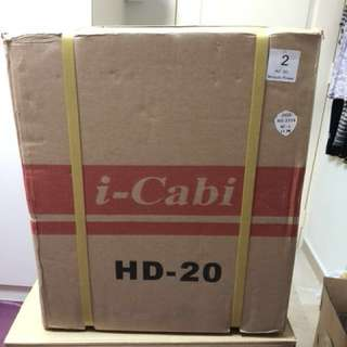 I-Cabi HD-20 electronic dry case (new and still inside the box)