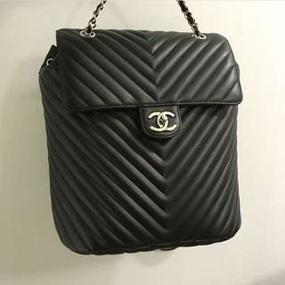 Chanel Urban Spirit Backpack in Black