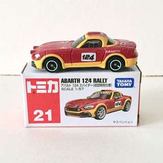 Tomica Abarth 124 Rally