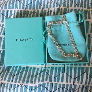Tiffany $ Co Sterling Silver Chain