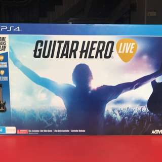 Used Guitar hero Live Complete set