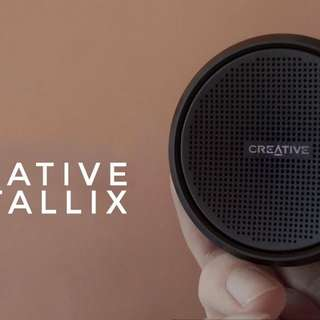 Creative Metallix - Portable Bluetooth Speaker