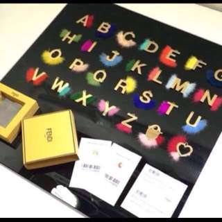 Fendi ABC Click Charm directly from Europe. So Instagram-able !