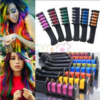 Hair colouring comb