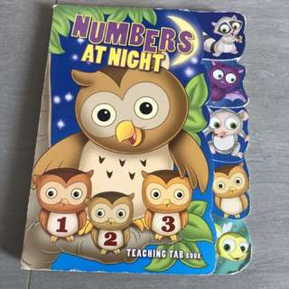 Numbers at night