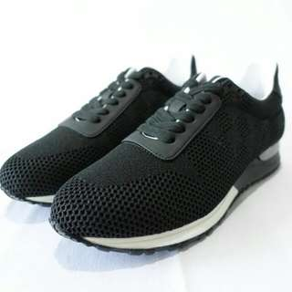 SEPATU LV SNAEKER RUN WAY GRAPITH BLACK MIRORR QUALITY FOR MEN