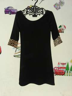 minni dress leopart