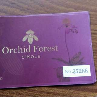 Tiket orchid forest