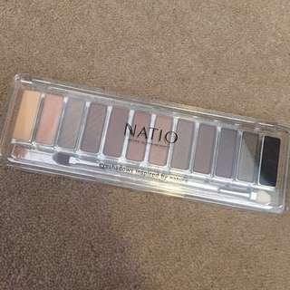Natio eyeshadow palette -earth