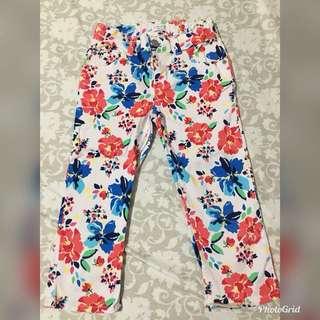 Kids Floral Pants