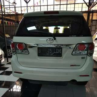 Fortuner VNT Turbo Diesel 2013