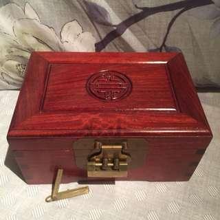 中式手飾木盒