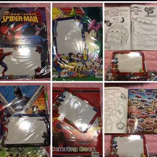 Limited Stock left !! Instock Coloring And Stickers Book set include a drawing board Brand New