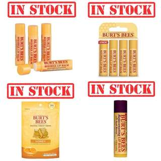 In Stock Burt's Bees Lip Balm mama belly kissable throat honey candy | pls click on our account for details  SHAREIGN https://carousell.com/shareign/