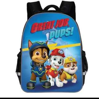 Paw Patrol Backpack preorder brand new ht 34cm