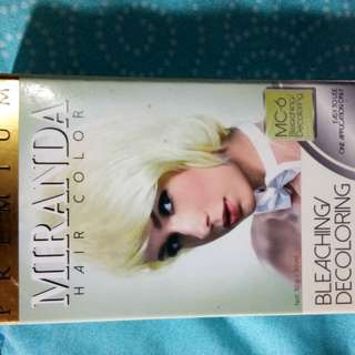 miranda hair color BLEACHING