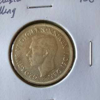 1950 Australia shilling