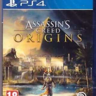 Selling Assassin's Creed Origins PS4