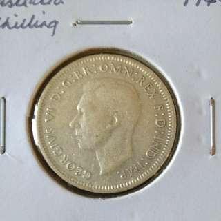 1944 Australia shilling
