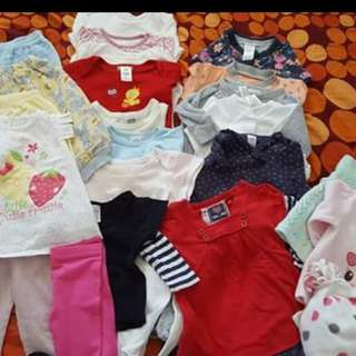 Girls clothes bundle 9-12m;12-18m