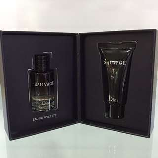 DIOR SAUVAGE TRAVEL SET