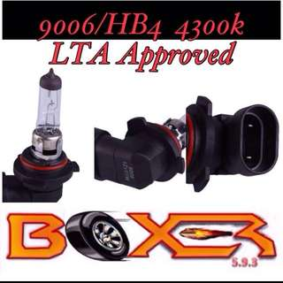 9006/HB4 LTA approved headlight