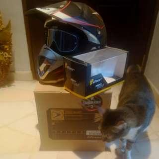Thor Force Helmet w/ Enemy Goggles