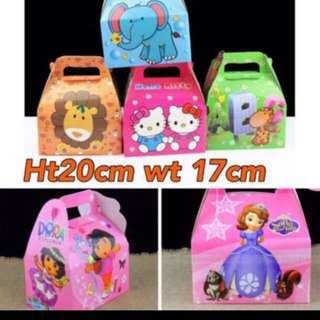 Instock Goodies Bag animals design /Sofia Brand New Gd Quality