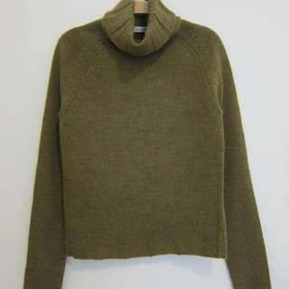 Jessica 立領羊毛上衣