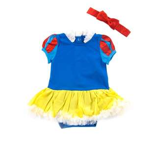 Princess Snow White baby romper