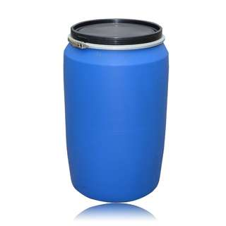 (Recycle)200litre HDPE Open Top Drum