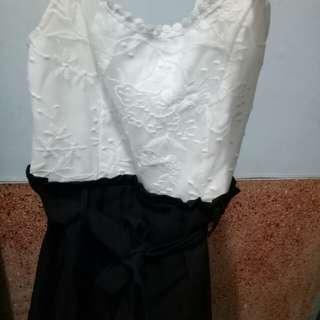 洋裝連身褲